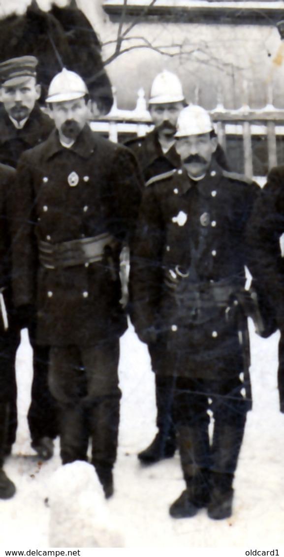ESTONIA NUSTAGO JURJEW DORPAT TARTU 05.12.1907 Firefighters, Police Officers, ORCHESTRA ... - Estland