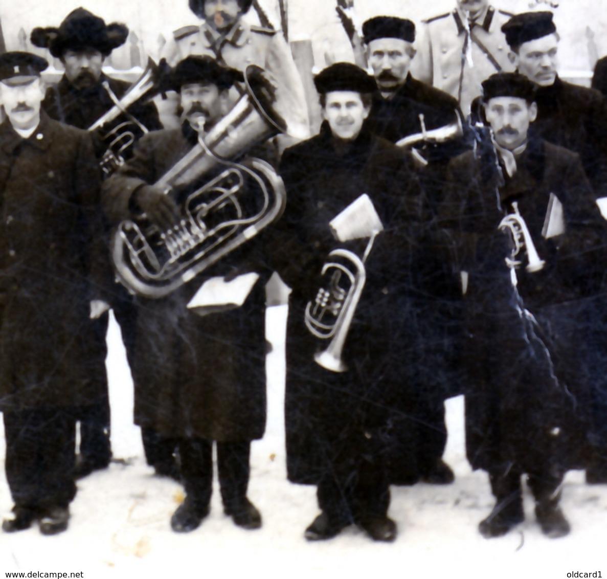ESTONIA NUSTAGO JURJEW DORPAT TARTU 05.12.1907 Firefighters, Police Officers, ORCHESTRA ... - Estonie