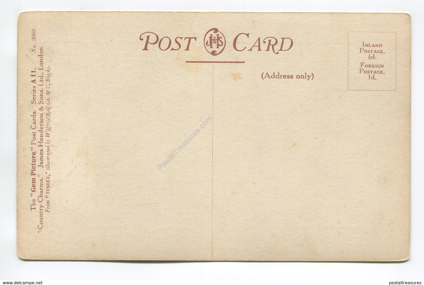 The Rother By Wilfrid Ball - Postcards