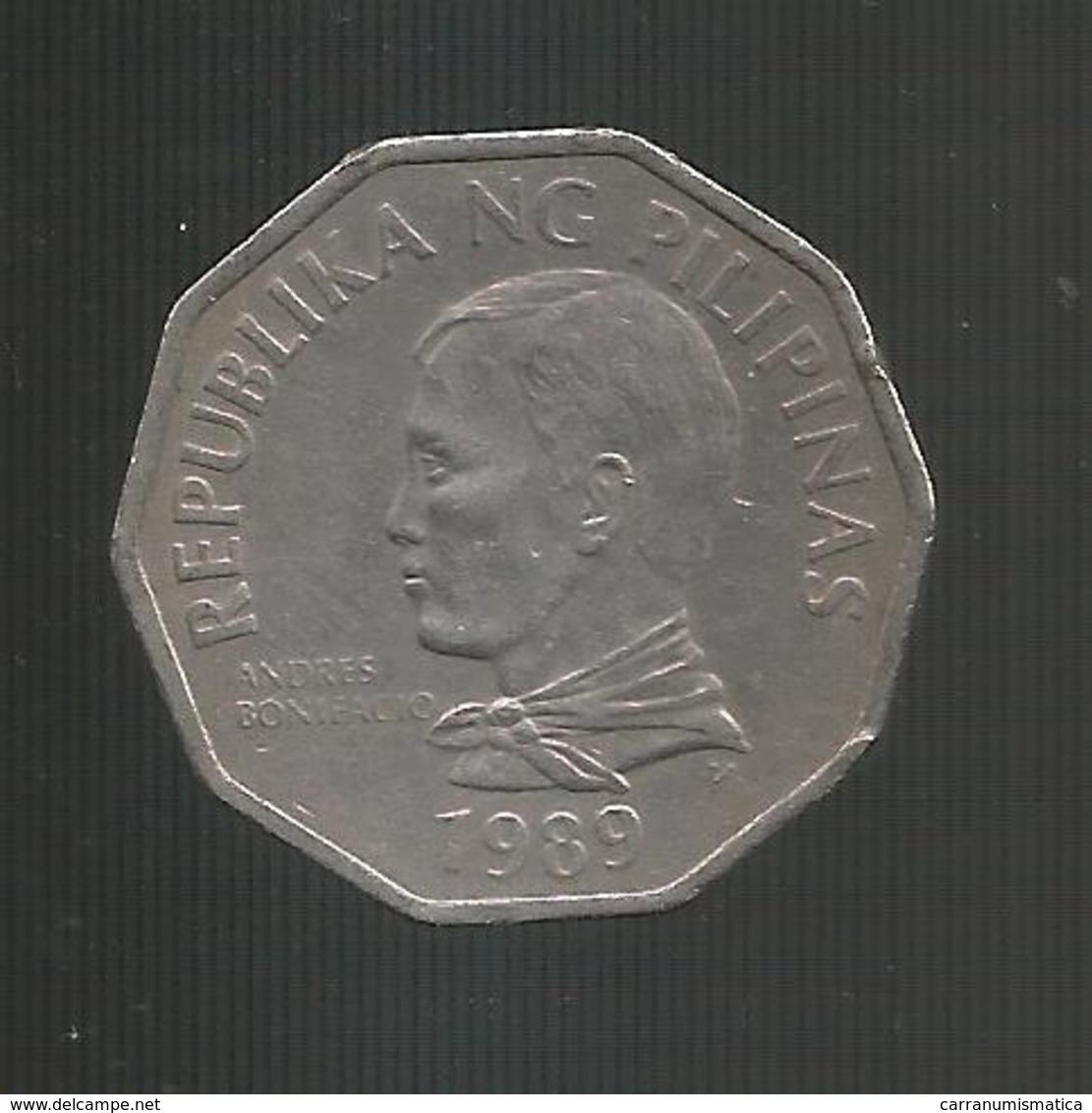FILIPPINE / PILIPINAS - 2 PISO ( 1989 ) - Caraibi Orientali (Stati Dei)