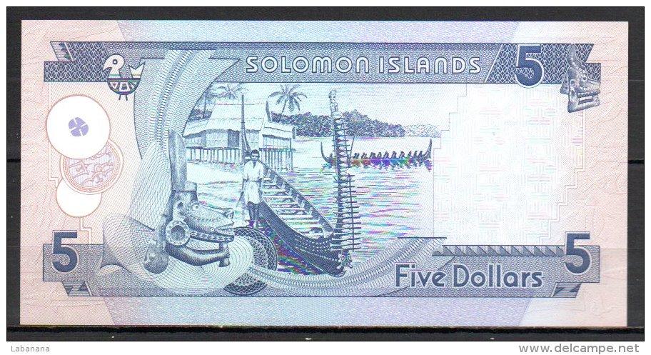 558-Salomons Billet De 5 Dollars 1997 C7 - Salomons