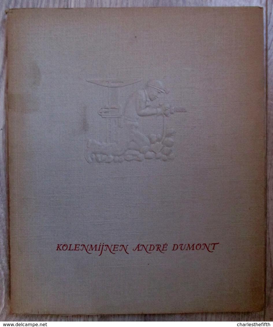 ZEER ZELDZAAM - HULDE UITGAVE ** KOLENMIJNEN ANDRE DUMONT ** WATERSCHEI 1907-1957 - MINE DE CHARBON - COAL MINE - Antique