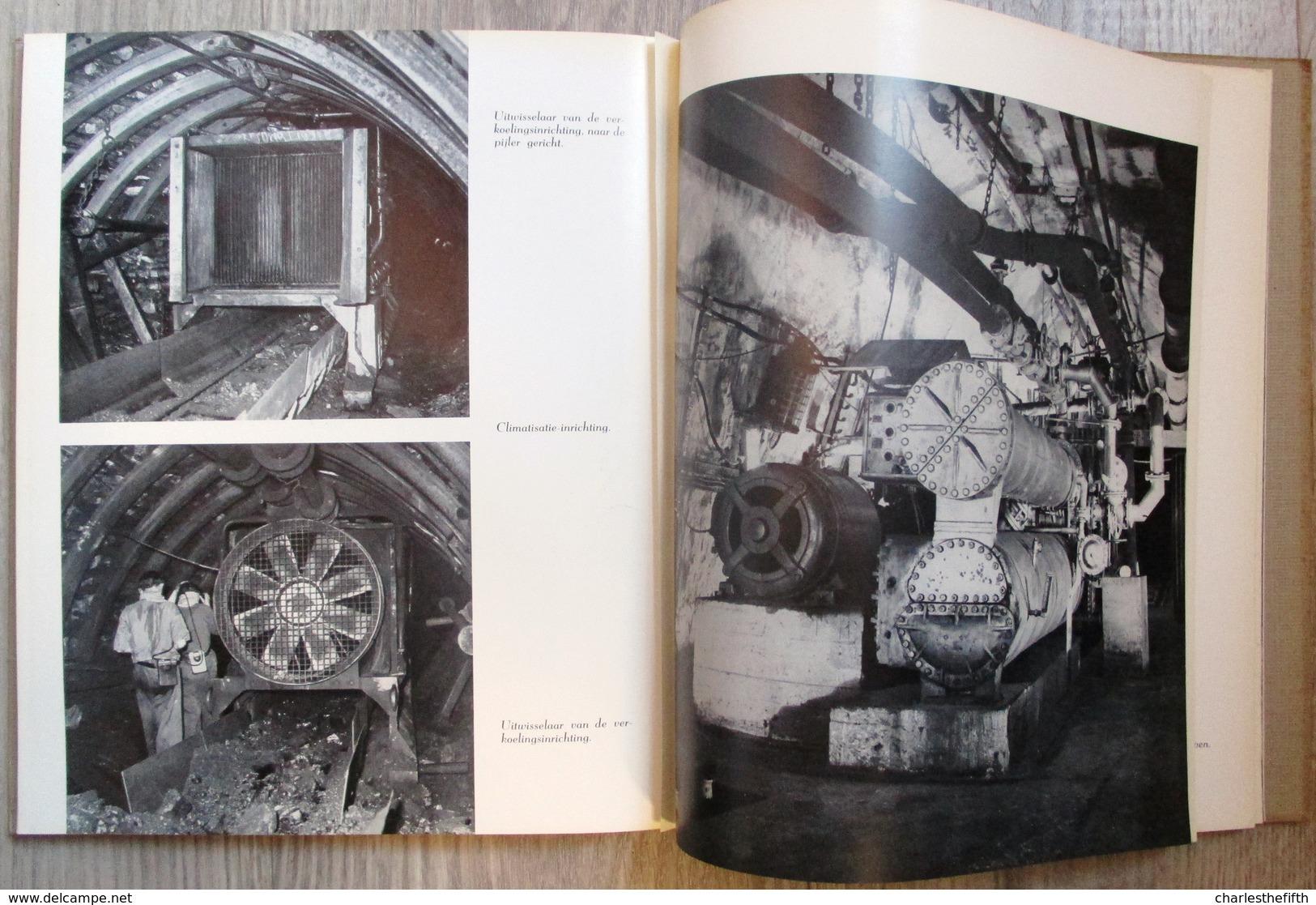 ZEER ZELDZAAM - HULDE UITGAVE ** KOLENMIJNEN ANDRE DUMONT ** WATERSCHEI 1907-1957 - MINE DE CHARBON - COAL MINE - Antiguos
