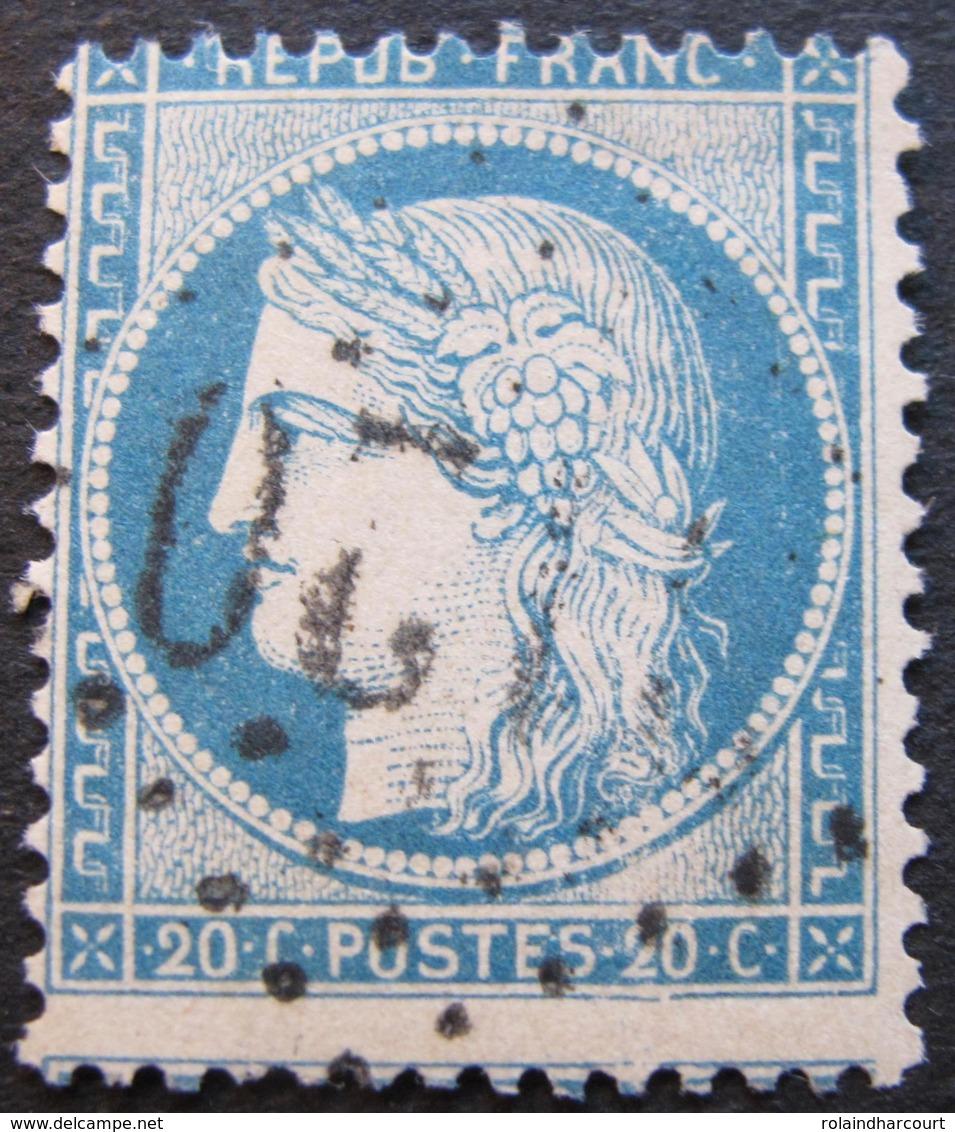 OE/265 - CERES N°37 - LGC - PIQUAGE DECALE - Cote : 15,00 € - 1870 Siège De Paris