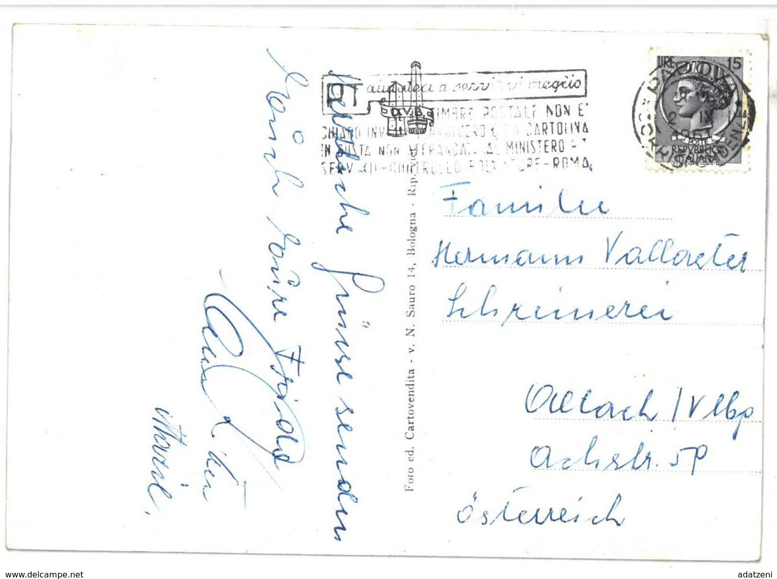 Emilia Romagna  Saluti Da Porto Garibaldi 4 Vedute Viaggiata 1961 - Italia