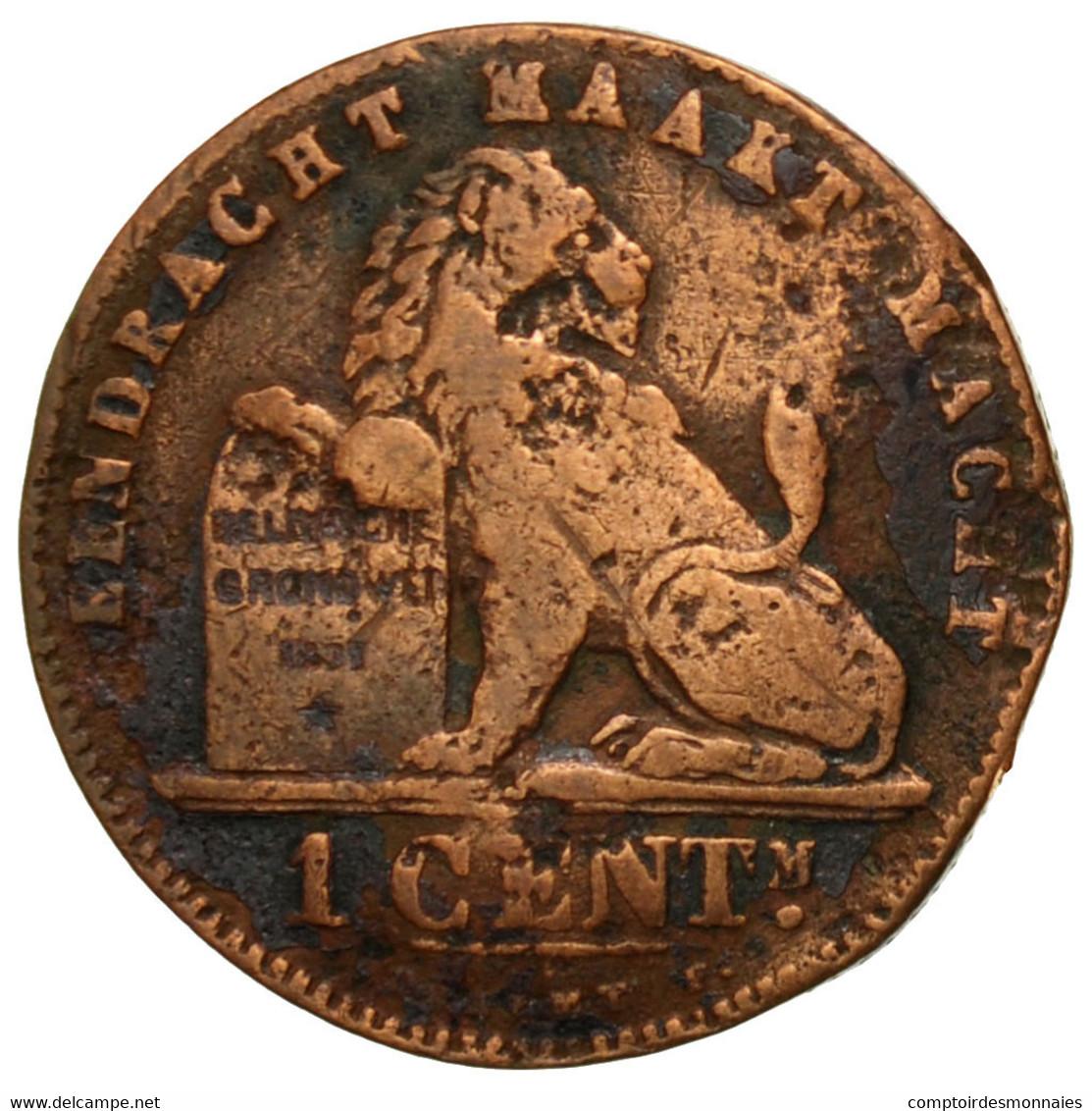 Monnaie, Belgique, Leopold II, Centime, 1894, TB, Cuivre, KM:34.1 - 1865-1909: Leopold II