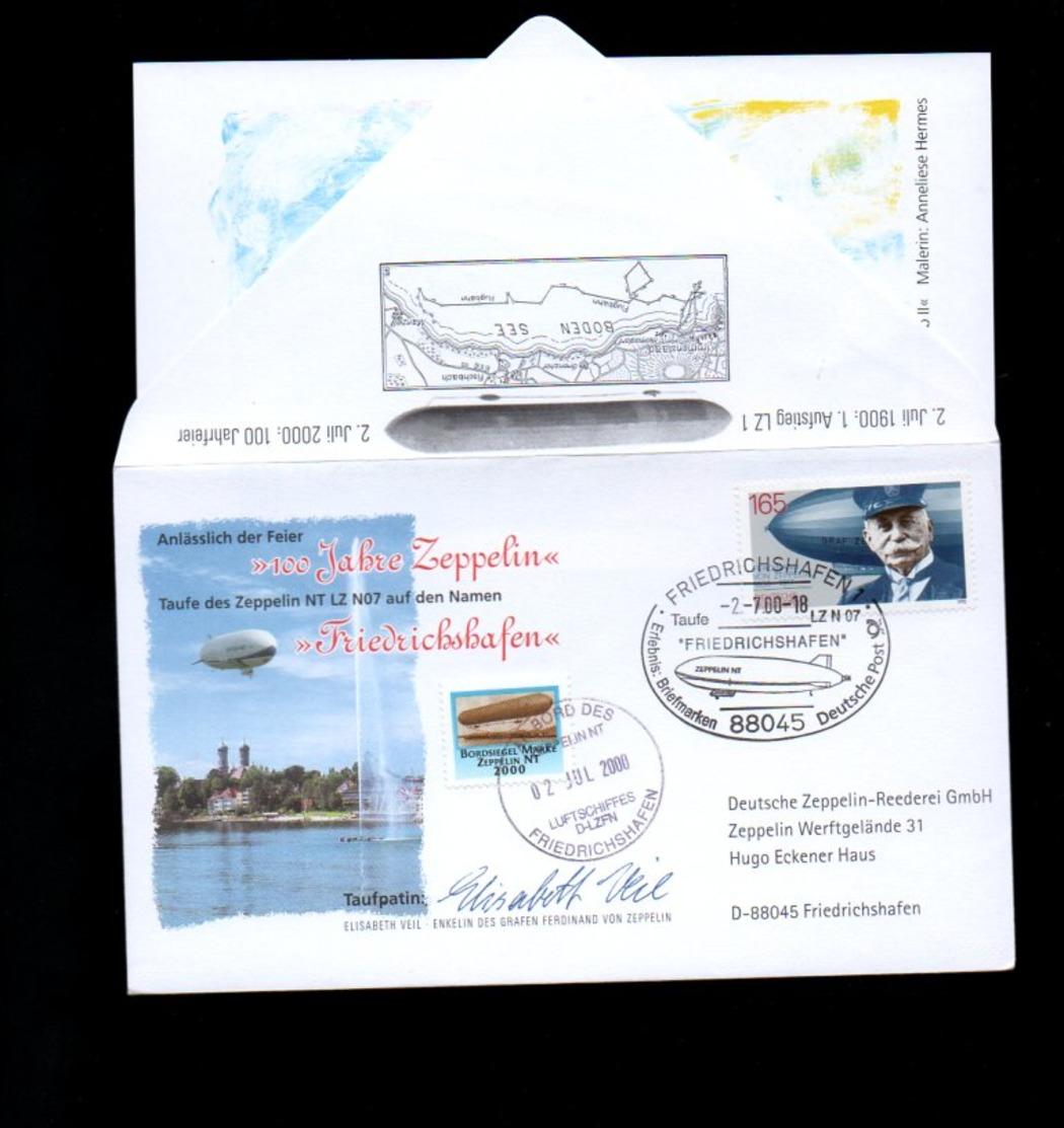 Zeppelin 2000 Taufpatin: Elisabeth Veil (172) - Unclassified
