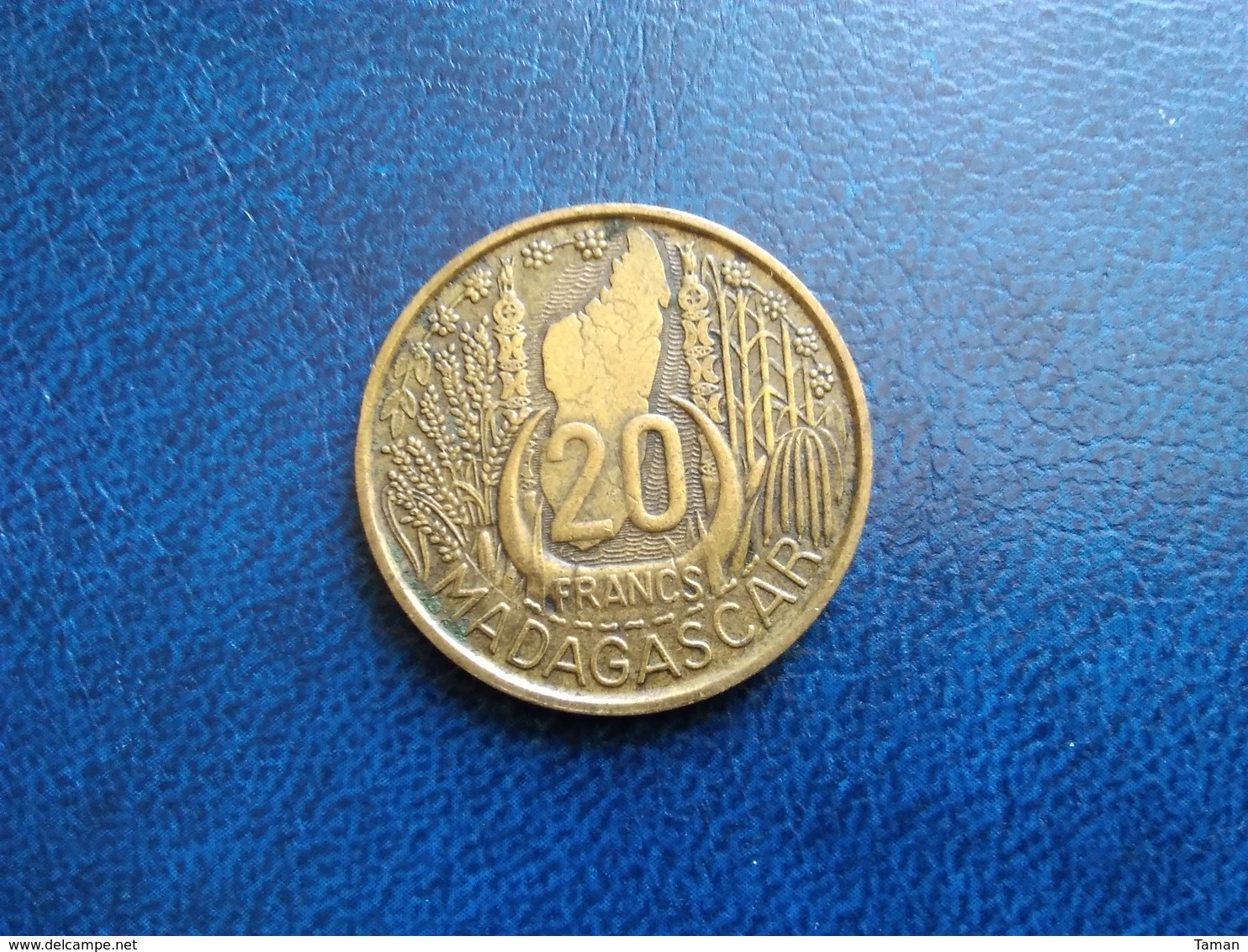 MADAGASCAR   20 Francs  1953 - Madagascar