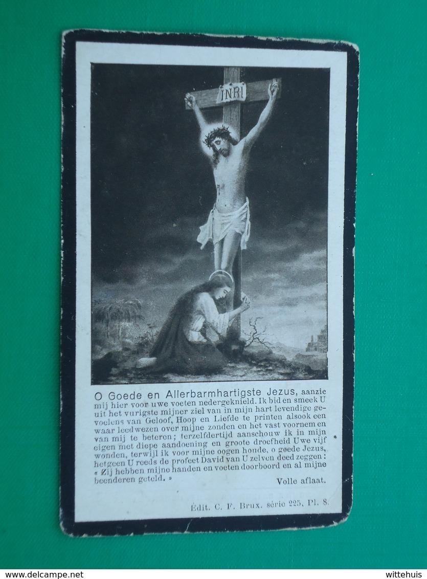 Pamphile Lombaert - Germonpré Geboren Te Leke 1874 En Aldaar Overleden 1924  (2scans) - Religion & Esotérisme
