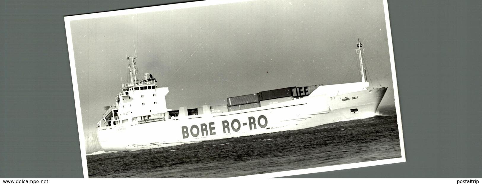 BORE SEA 13*9 Cm  Bateau Barco Bateaux, CARGERO - Barcos