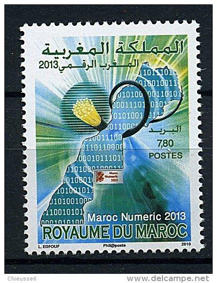 Maroc **  N° 1565 - Maroc Numeric 2013 - Morocco (1956-...)