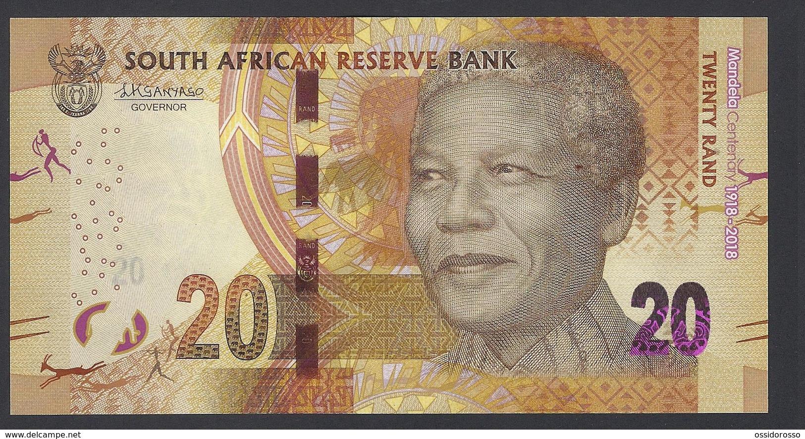 South Africa - 20 Rand - Mandela Centenary 1918-2018 - SC 3487059 B - MSPL/SPL - Afrique Du Sud