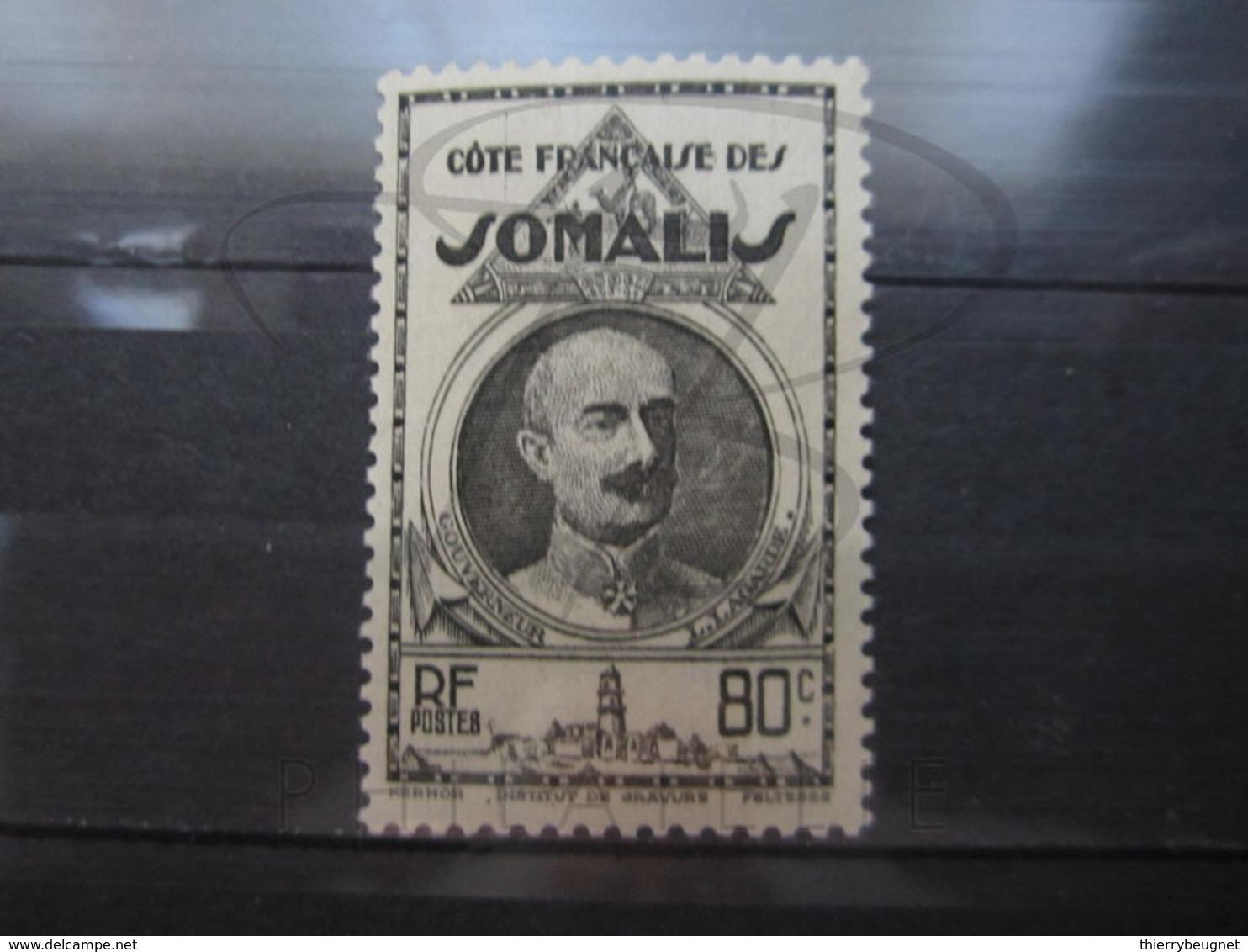 VEND BEAU TIMBRE DE LA COTE FRANCAISE DES SOMALIS N° 161 , X !!! - Neufs