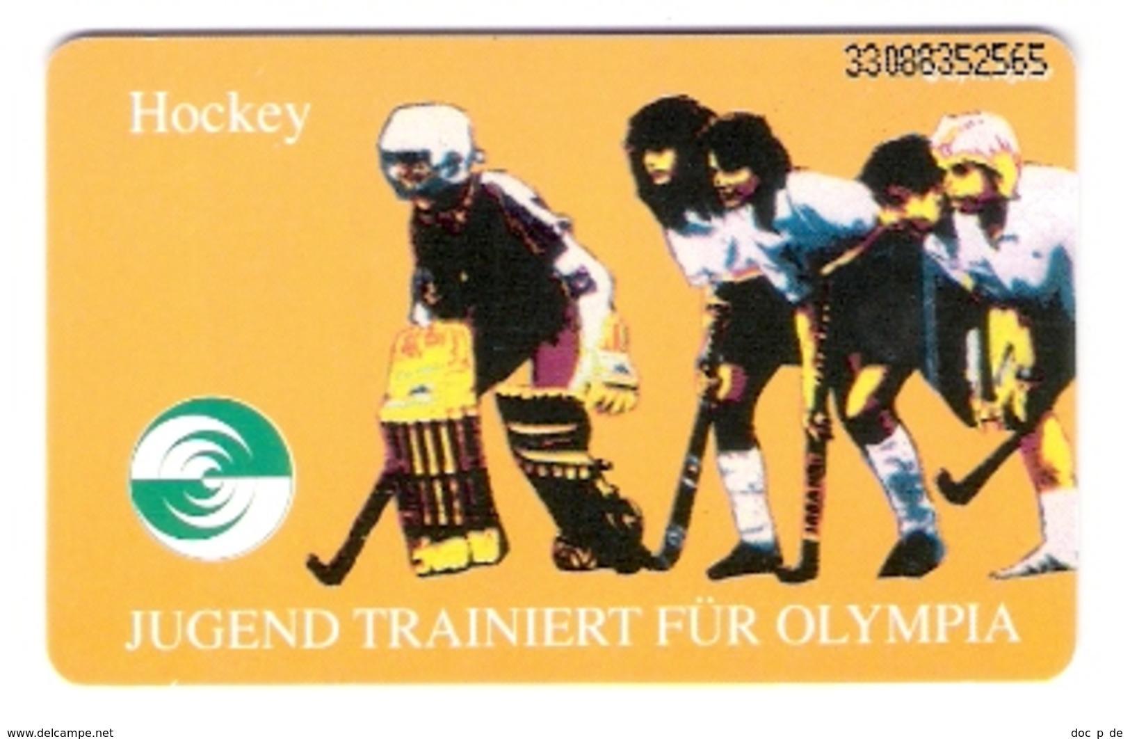 GERMANY - O 192F  08/93 - Kelloggs - Jugend Trainiert Für Olympia - Hockey - Sport - Mint - Deutschland