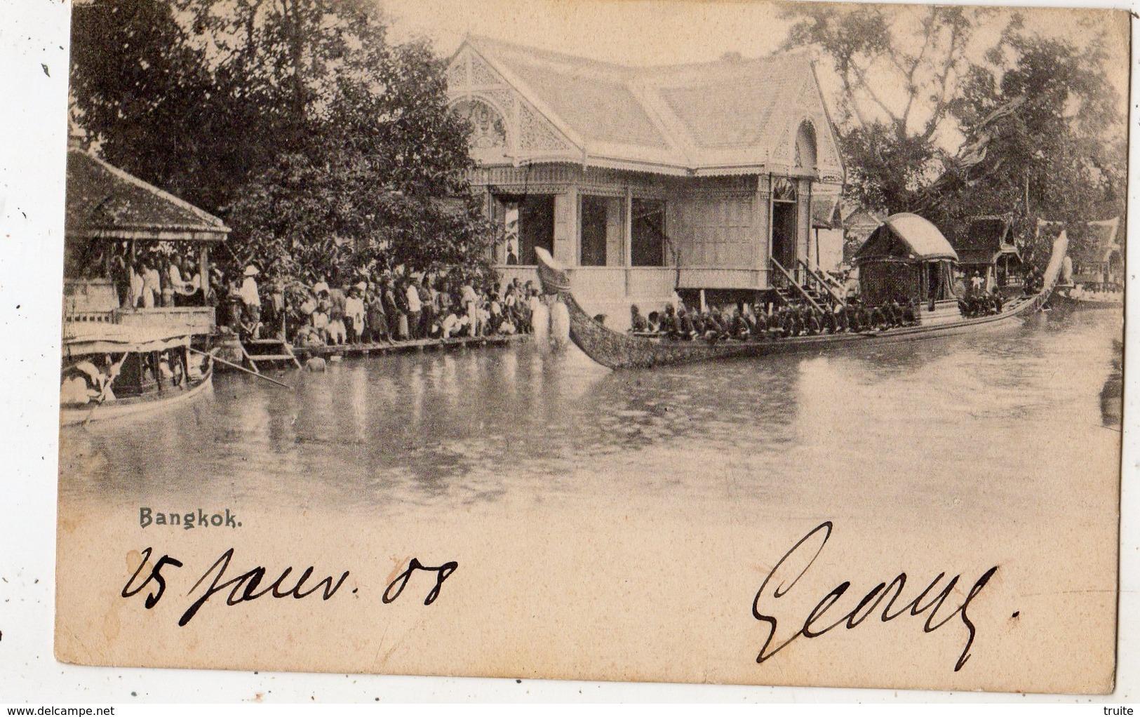 BANGKOK (CARTE PRECURSEUR ) - Thaïlande
