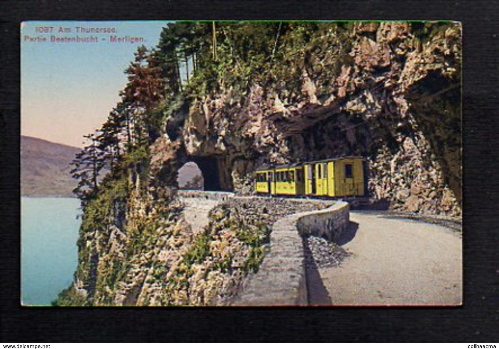 Suisse / Am Thunersee / Partie Beatenbucht / Merligen / Chemin De Fer - Suisse