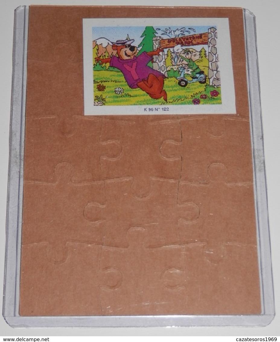 PUZZLE  KINDER SUPRISE  K.96 Nº 122 - Puzzles