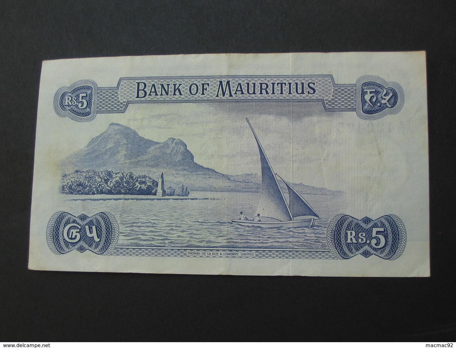50 Fifty - Rupees 1967 - ILE MAURICE - Bank Of Mauritius  **** EN ACHAT IMMEDIAT ***** - Maurice