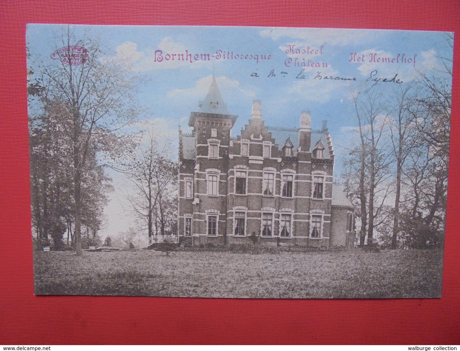 Bornem :Le Château Het Hemelhof (B284) - Bornem