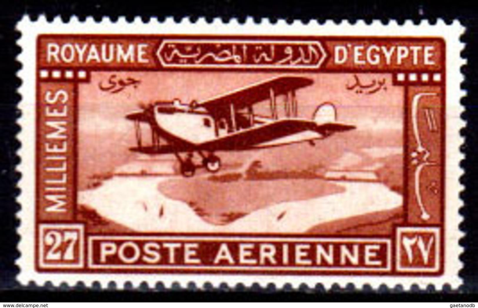 Egitto-046 - Emissione DI POSTA AEREA 1926-29 (++) MNH - Senza Difetti Occulti. - Posta Aerea