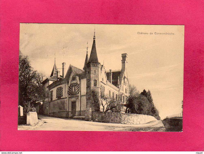 Suisse, Neuchâtel, Château De Cormondrèche, 1915, (Bous) - NE Neuchatel