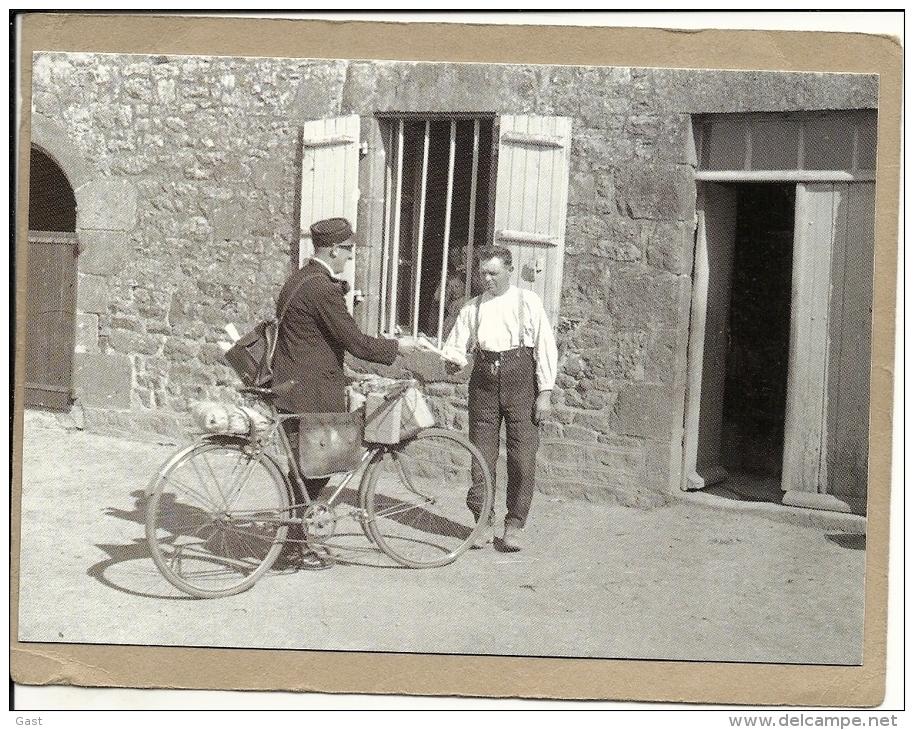 FACTEUR   A    BICYCLETTE       VERS  1950 - Métiers