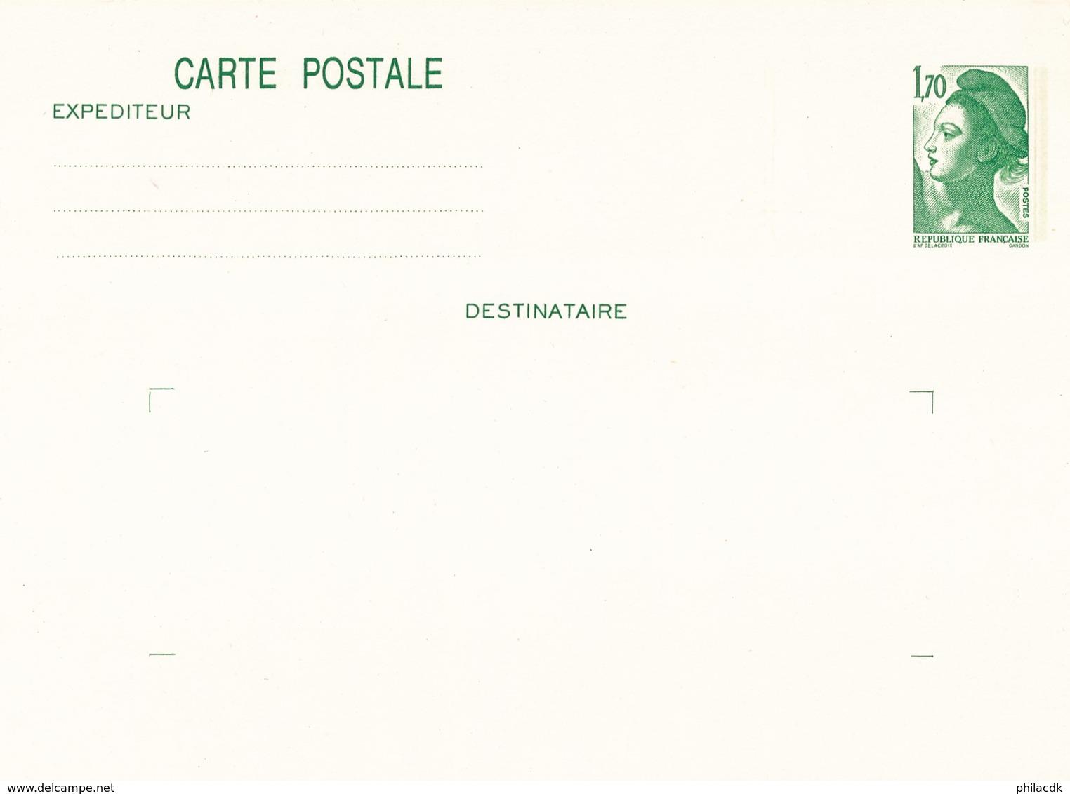 FRANCE - ENTIER POSTAL CARTE POSTALE NEUF N°YT 2318-CP1 - COTE YT : 1.60€ - 1982-88 - Entiers Postaux