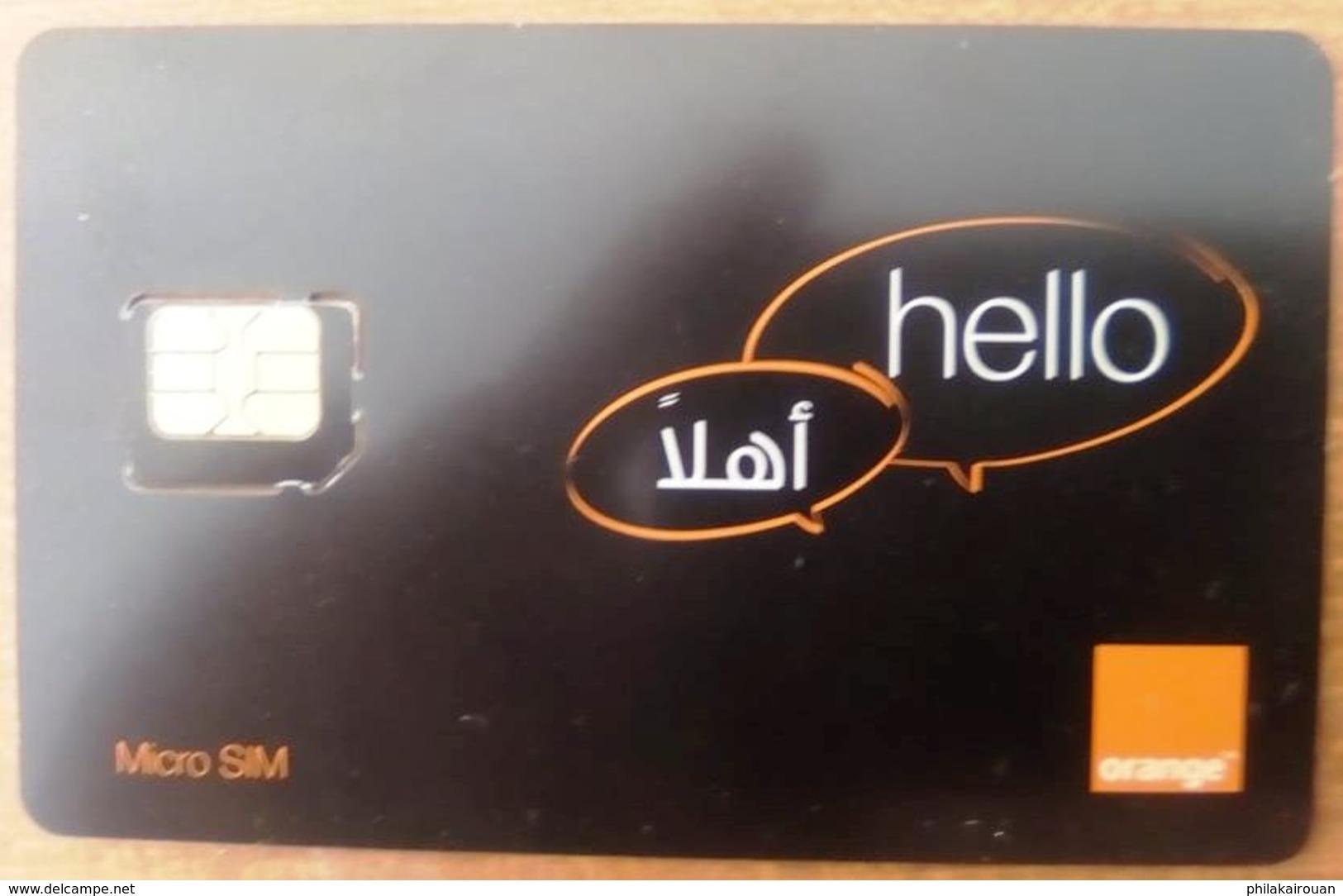 Carte SIM Non Utilisée Orange - Tunisie