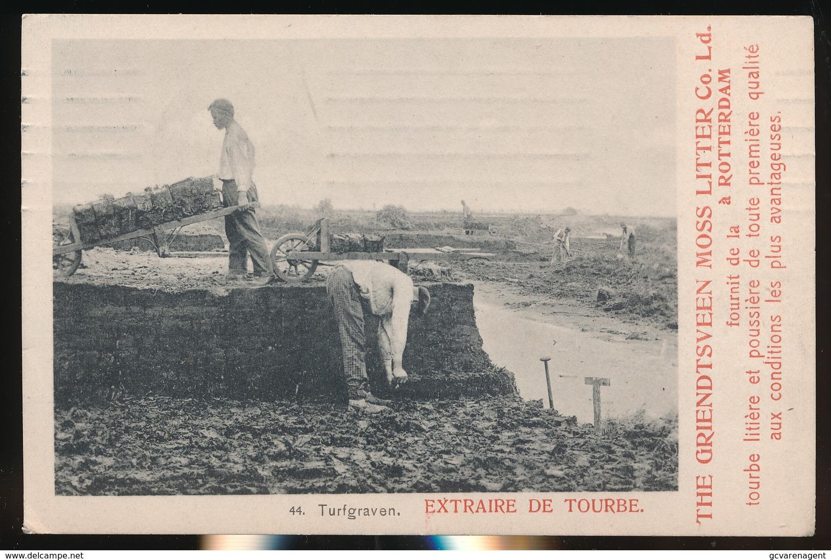 TURFGRAVEN - THE GRIENTSVEEN MOSS LITTER Co. LD. A ROTTERDAM - Horst