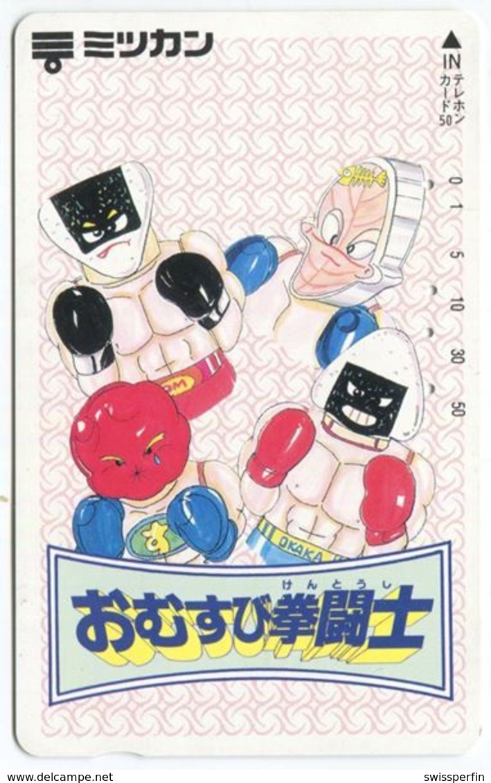1966 - Seltene Manga Anime Japan Telefonkarte - Comics