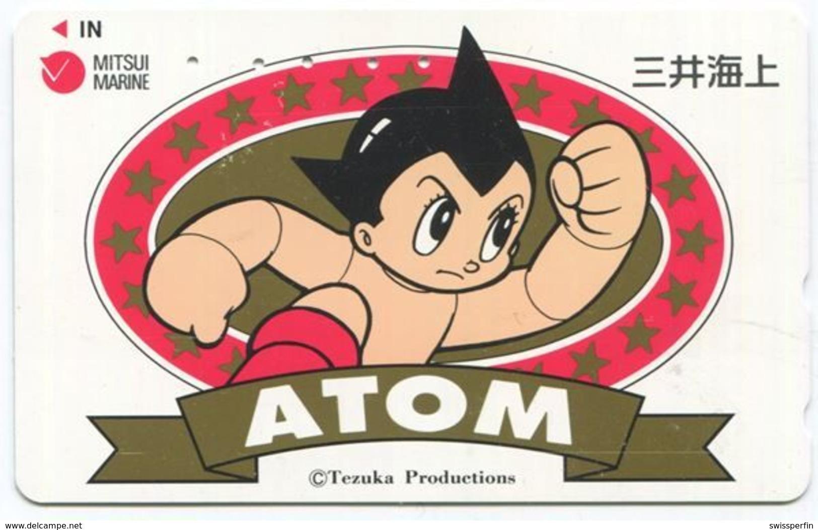 1969 - ATOM Manga Anime Japan Telefonkarte - Comics