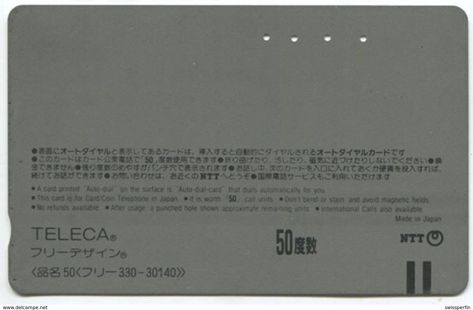 1974 - Chiki Chiki Boys Manga Anime Japan Telefonkarte - BD