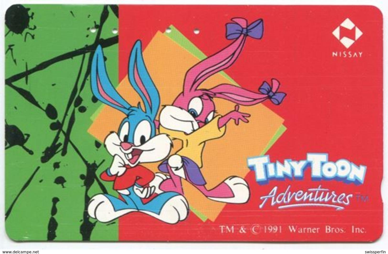 1976 - Tiny Toon Adventures Comic Japan Telefonkarte - Comics