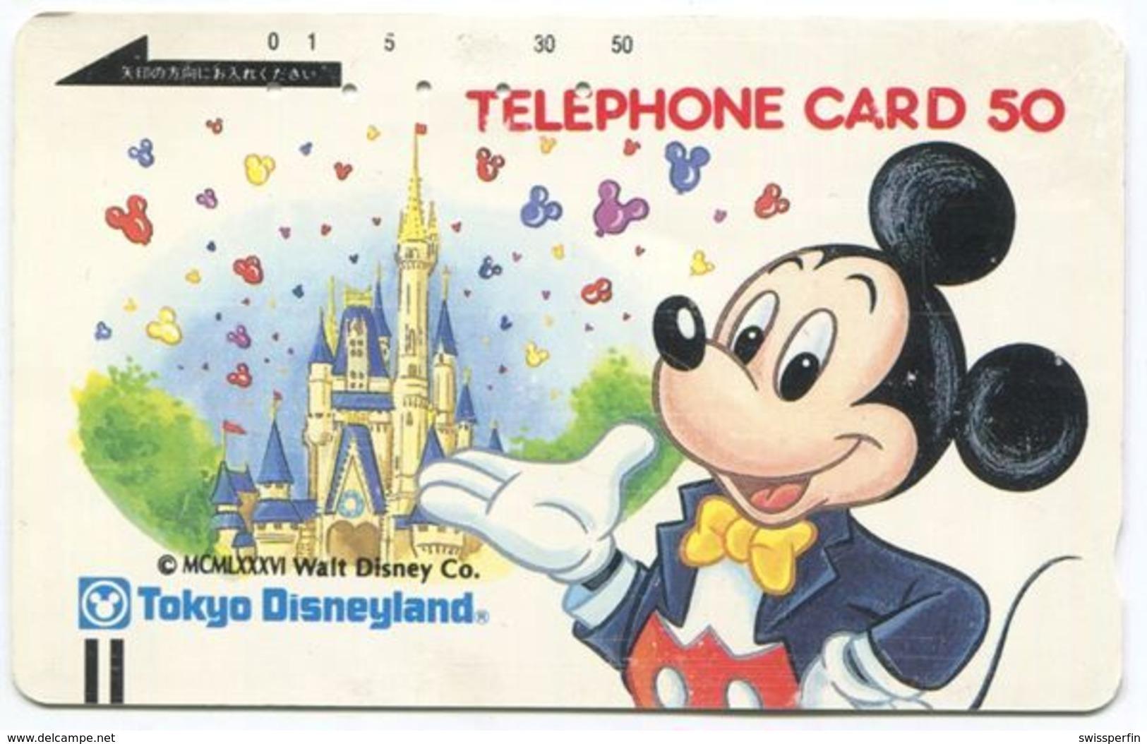 1982 - Micky Maus - Disney Japan Telefonkarte - BD