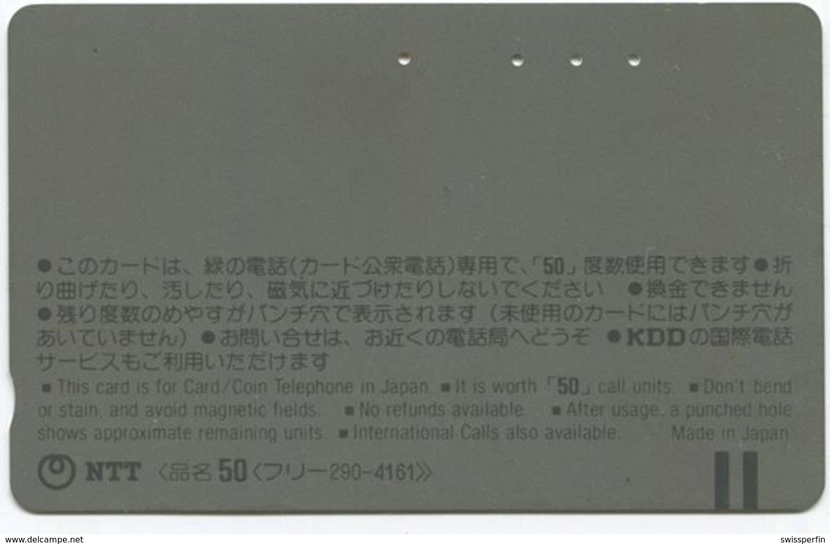 1983 - Pink Panther Comic Japan Telefonkarte - BD