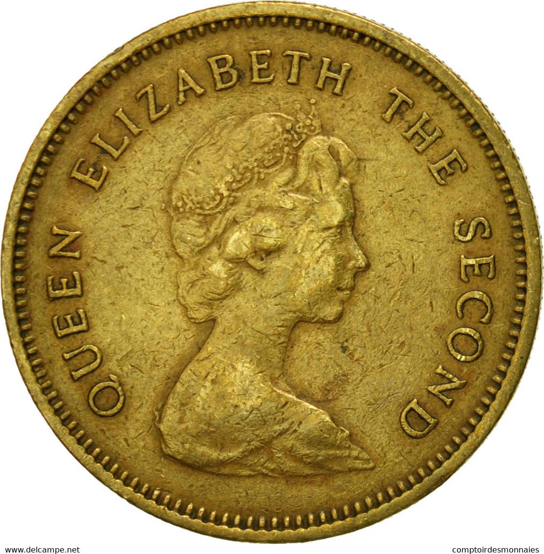 Monnaie, Hong Kong, Elizabeth II, 50 Cents, 1978, TTB, Nickel-brass, KM:41 - Hong Kong