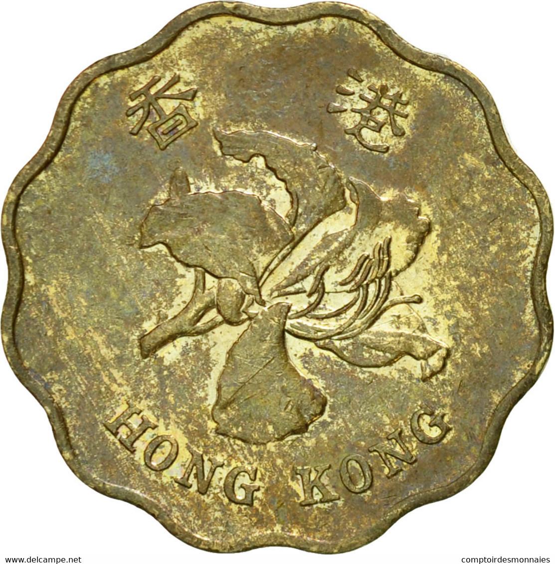 Monnaie, Hong Kong, Elizabeth II, 20 Cents, 1995, TTB, Nickel-brass, KM:67 - Hong Kong