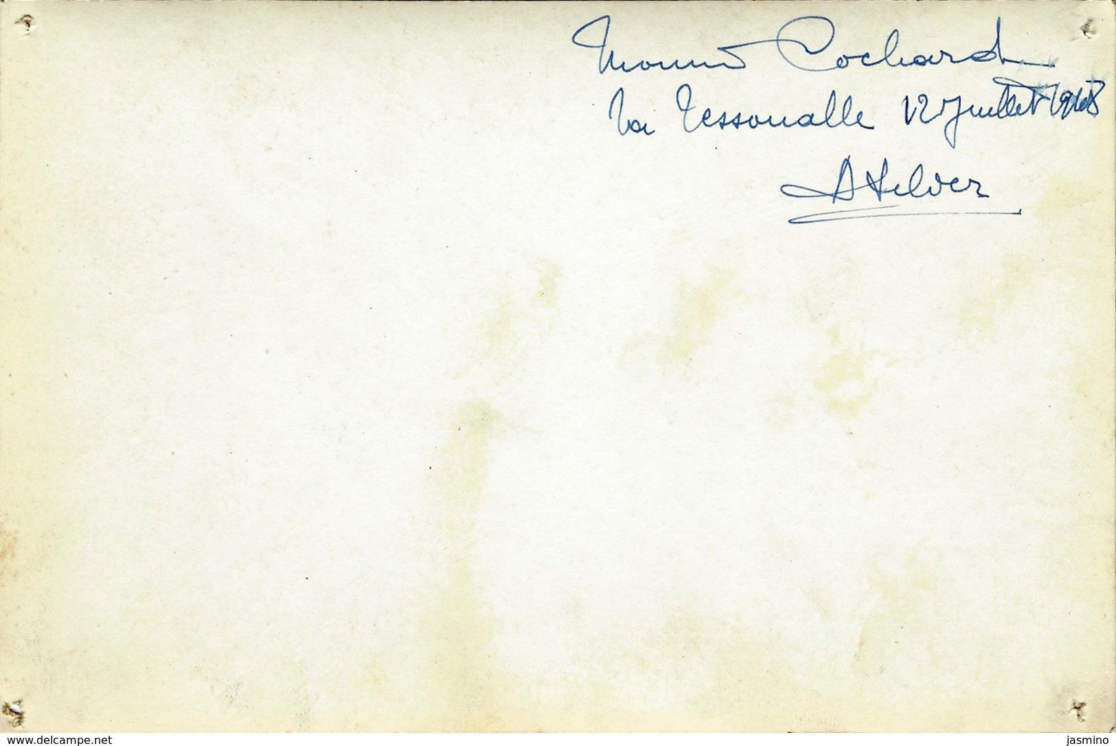 La Tessoualle Phot. Atelier De Mr Cochard , 12 /07/1948. Vue D'intérieur. - France