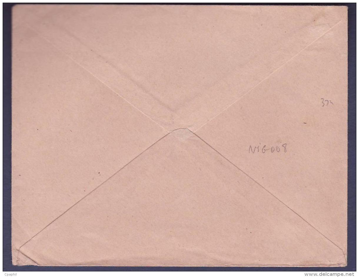 Guinee Lettre Franchise Militaire Cachet Zinder 1916 Pour Bordeaux  France - Covers & Documents