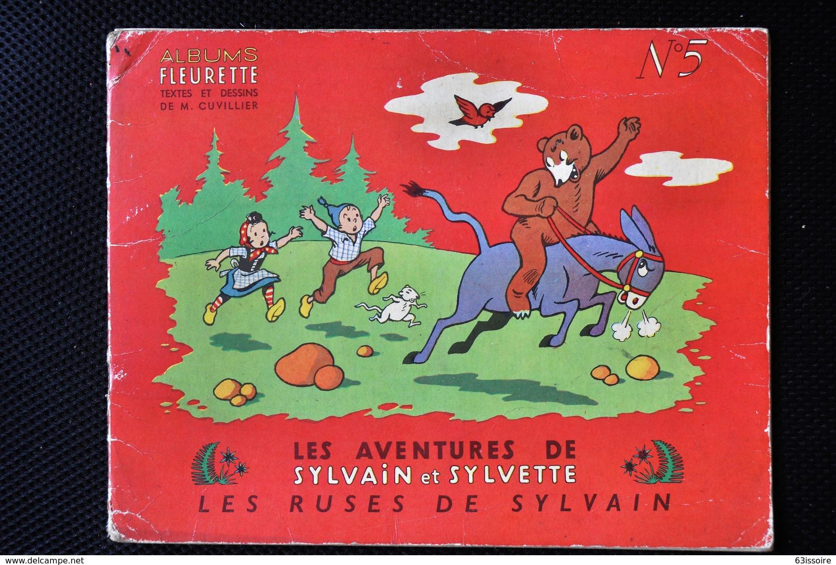 Les Aventures De Sylvain Et Sylvette N°5 Les Ruses De Sylvain - Sylvain Et Sylvette