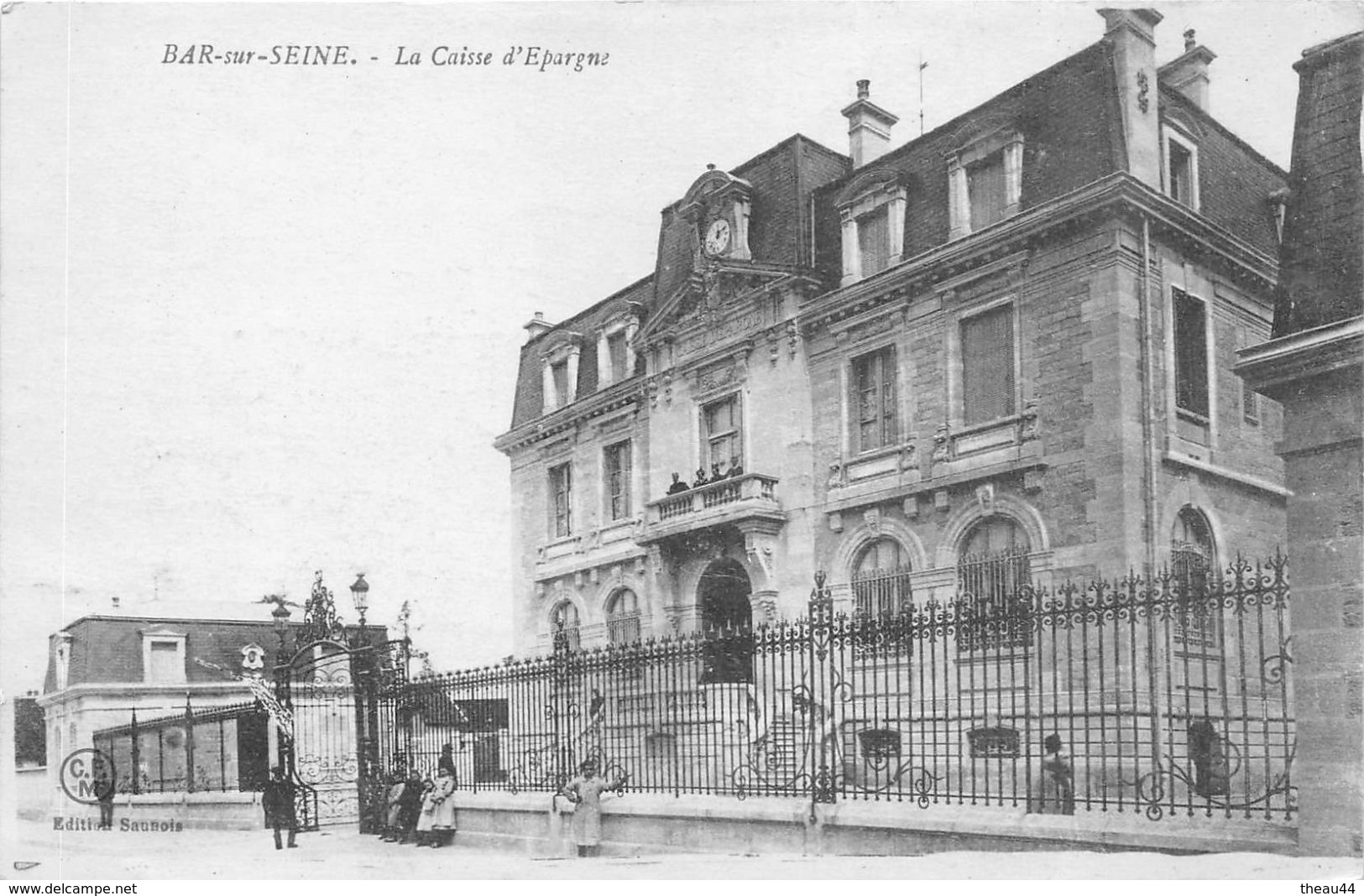 ¤¤    -    BAR-sur-SEINE   -  La Caisse D'Epargne   -   Banque    -   ¤¤ - Bar-sur-Seine