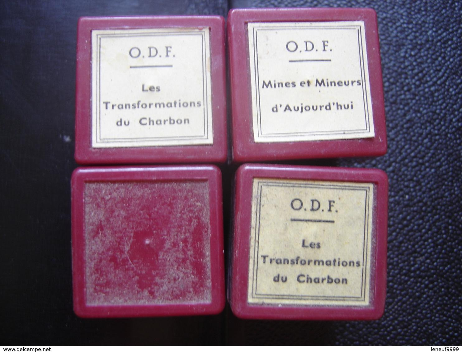 Lot FILM FIXE 35mm CHARBON Mines Mineurs - Bobines De Films: 35mm - 16mm - 9,5+8+S8mm