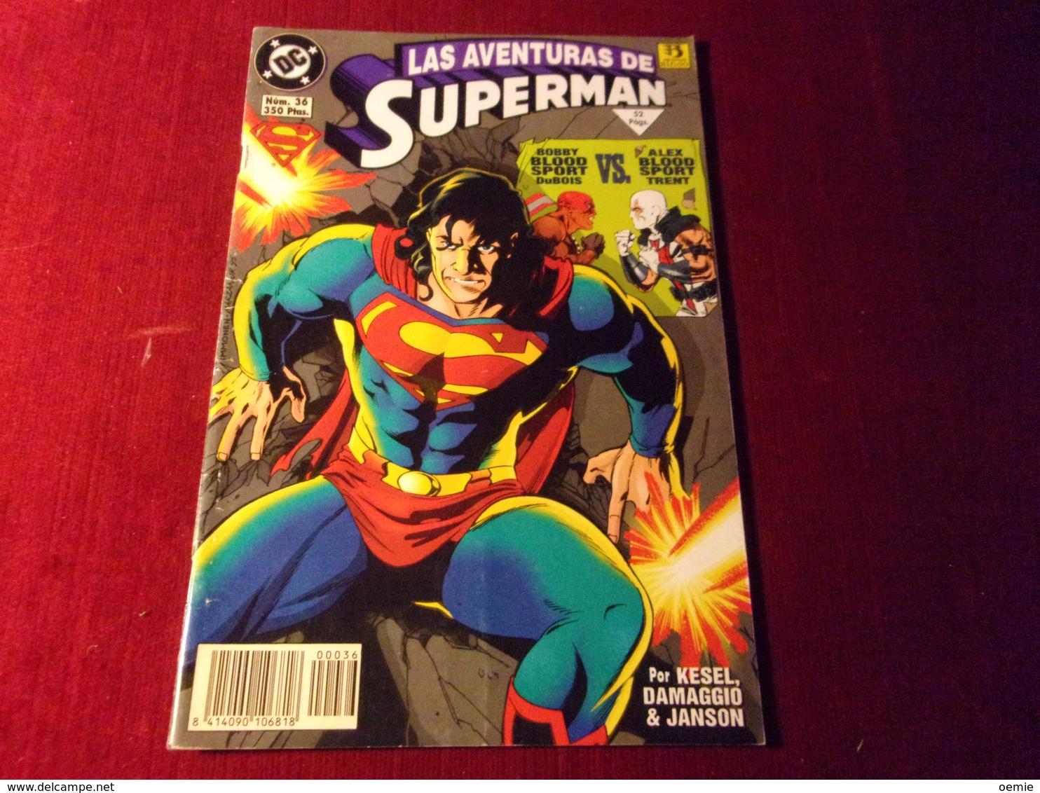 LAS AVENTURAS DE   SUPERMAN    No 36 - Livres, BD, Revues
