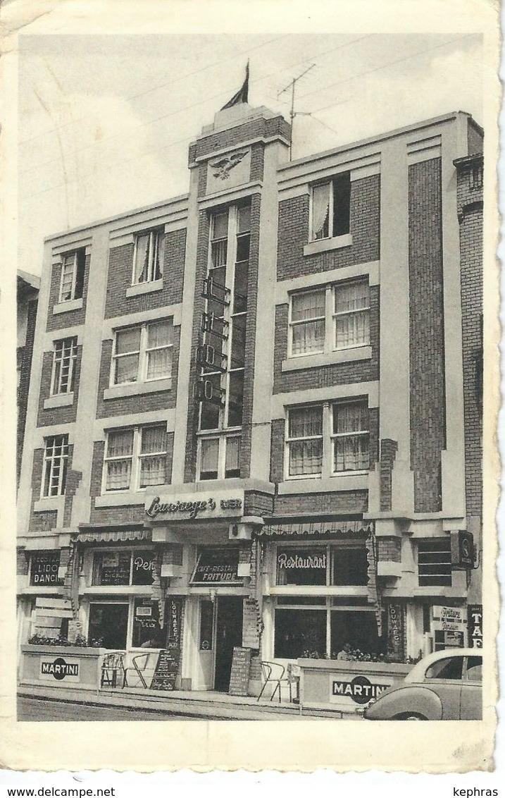 MIDDELKERKE : Rue De L'Eglise - Hotel LIDO - RARE CPA - Middelkerke