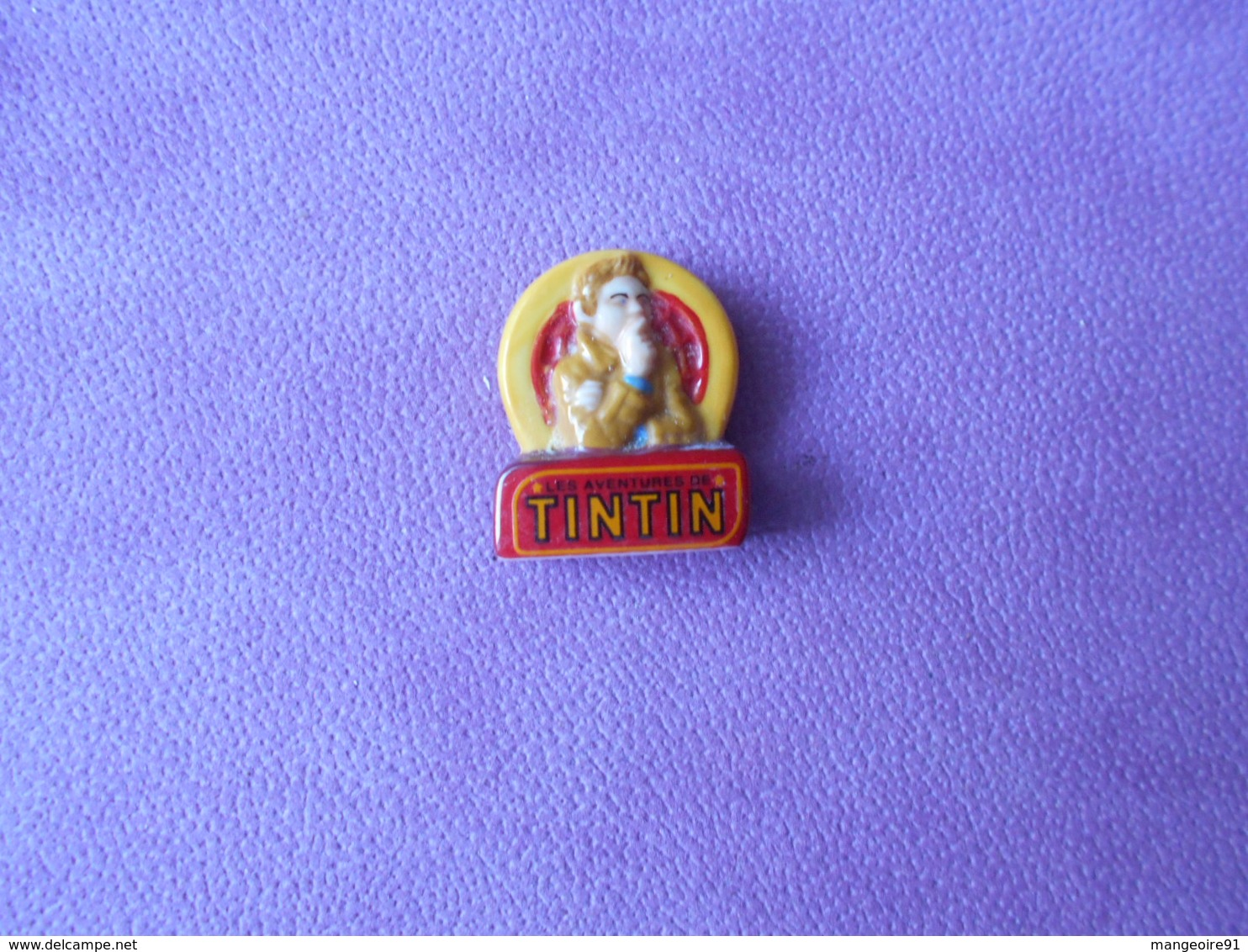 Fève 2011 Le Secret De La Licorne Le Logo Tintin (T 608) - BD