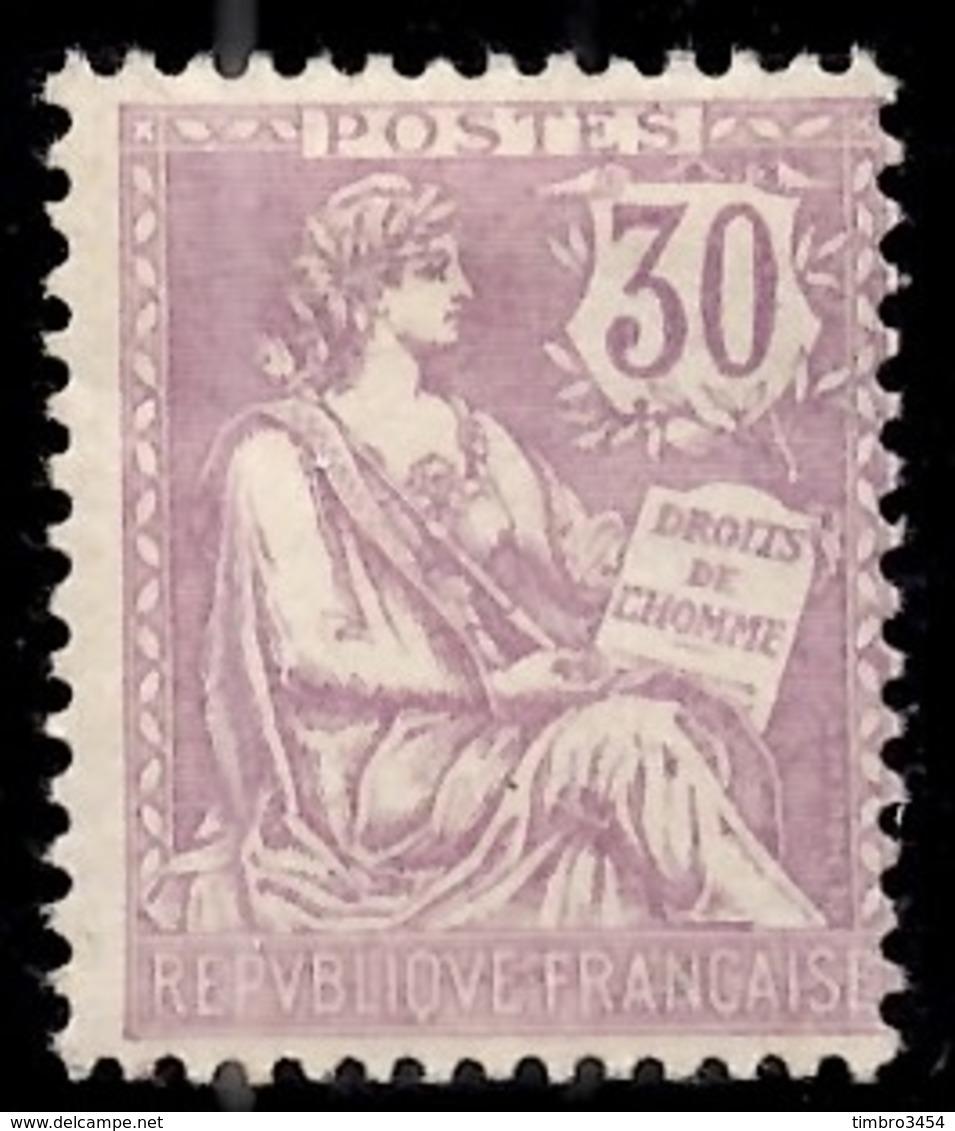 France Mouchon YT N° 128 Neuf *. Gomme D'origine. B/TB. A Saisir! - France