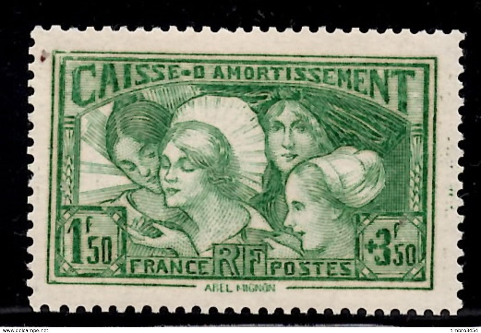 France Les Provinces YT N° 269 Neuf *. Gomme D'origine. B/TB. A Saisir! - France