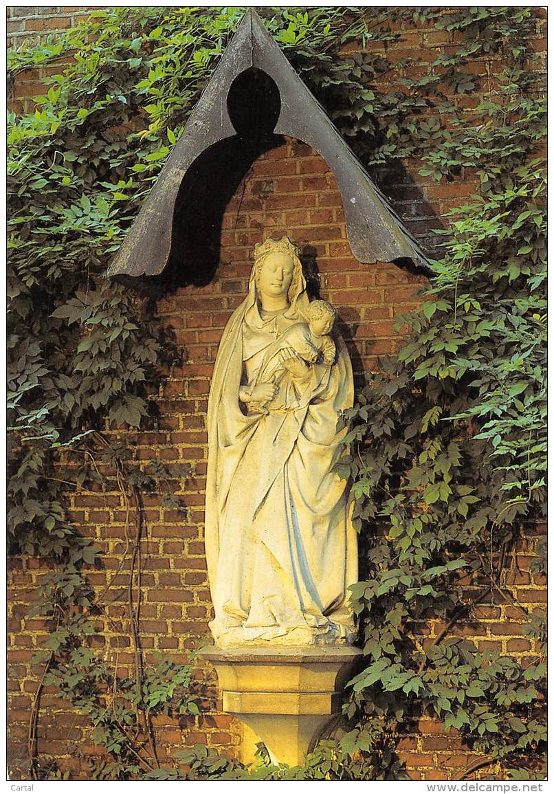 CPM - Norbertijnenabdij Tongerlo - Madonna (1422) - Westerlo