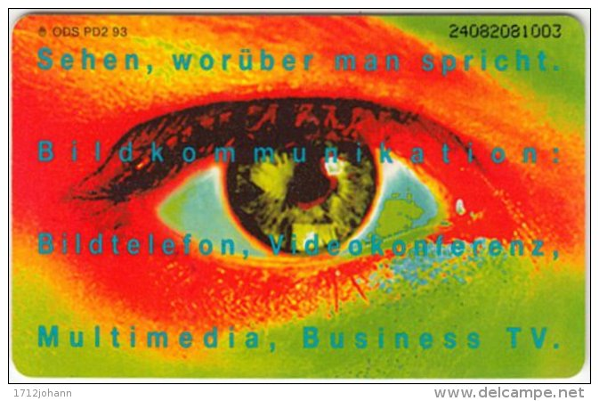 GERMANY PD-Serie A-483 - 2.93 (2408) - People, Eyes / Lips - Used - Deutschland