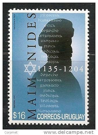 MAIMONIDES - 2004 URUGUAY - MINT (NH) - Uruguay